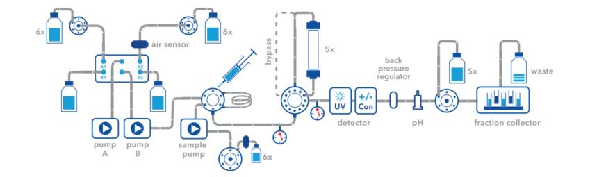 FPLC Plumbing Diagram