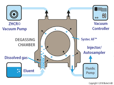 Mechanism of degasser degassing