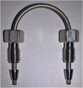HPLC tubing connector