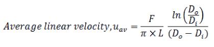 Monolith ScaleUp Equation