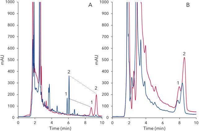 Scaling Up HPLC Chromatograms