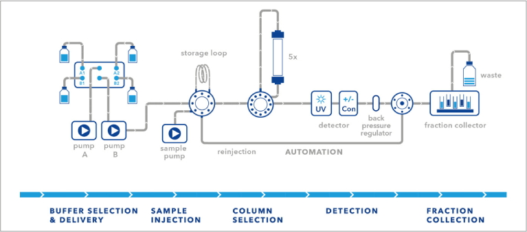 FPLC 2-Step Purification System
